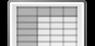редактор таблиц