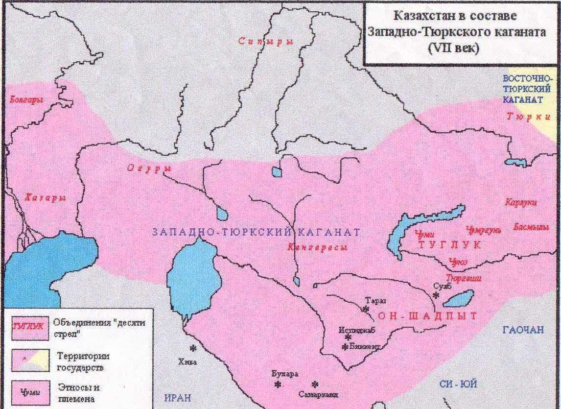 Казахстан VII век