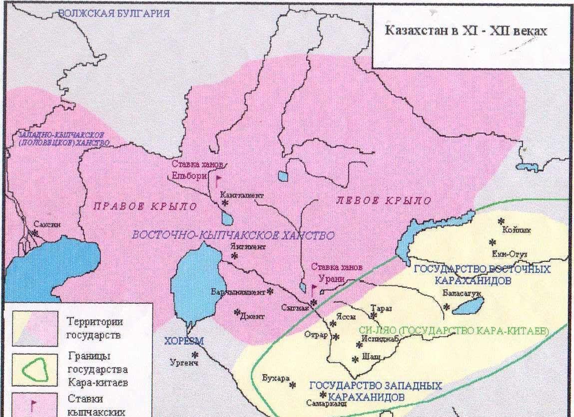 Казахстан в IX-X веках