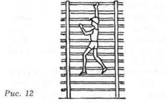 способы лазанья по гимнастической стенке